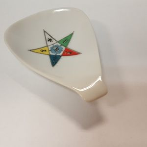 Order of the Eastern Star spoon rest
